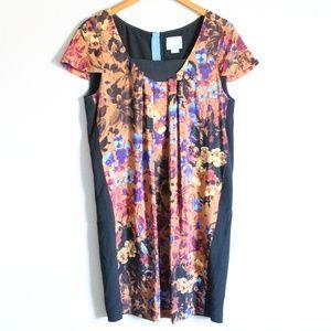 Maeve Anthropologie Pintura Silk Shift Dress S